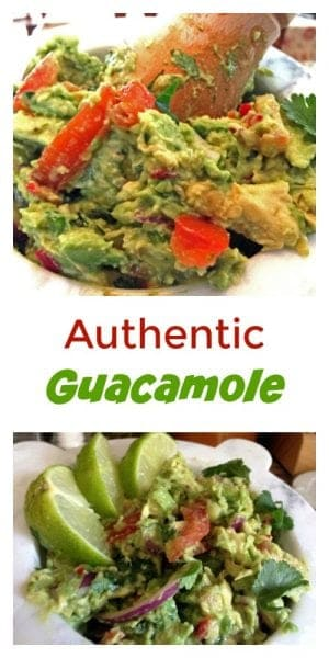 Authentic guacamole is all natural and all flavor! Have a fiesta in your kitchen with your own authentic guacamole!