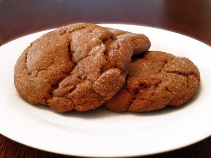 Old-Fashioned Molasses Cookies Recipe on Platter Talk