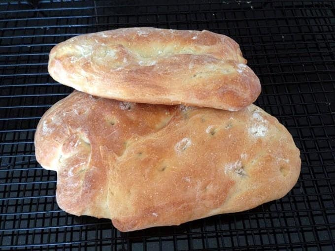 Ciabatta, The Italian Slipper Bread Recipe from Platter Talk