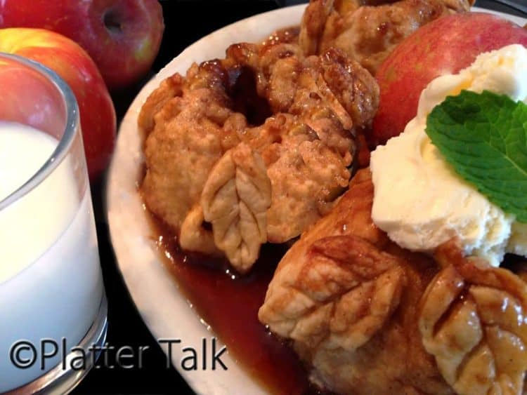 Old-Fashioned Apple Dumplings - Platter Talk