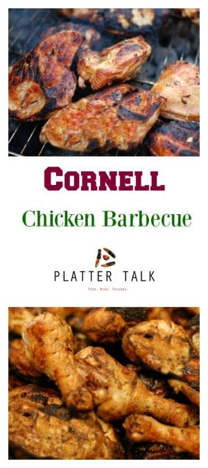 This Cornell Chicken Recipe was developed by Cornell Professor Robert Baker, in the early 20th century, to help the farmers of New York State. Decades later, Professor Baker's legacy lives on with this recipe that has since become an indelible part of the the empire state's food culture.