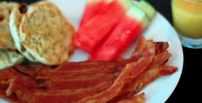 Food Flash!  Oven-Fried Bacon