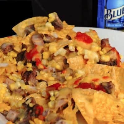 Pork and Gouda Nachos