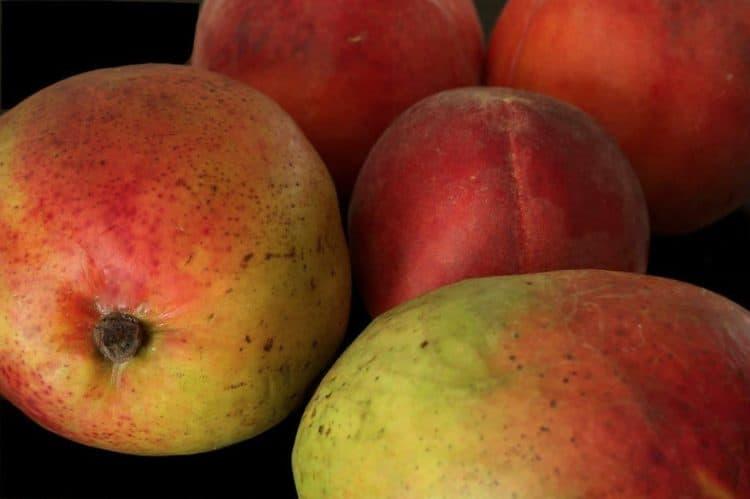 A pile of mango