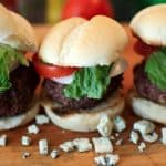 Bacon-Gorgonzola Sliders
