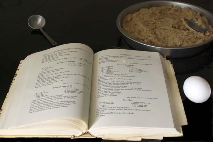 An open cookbook