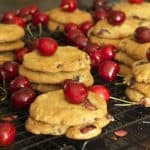 Bing Cherry and Chocolate Chip Cookies
