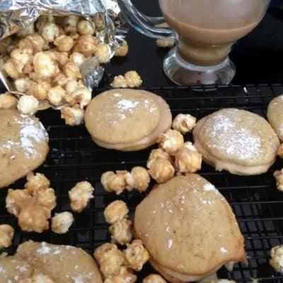Caramel Corn Whoopie Pies
