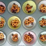 Pretzel Muffins with Chocolate Chips