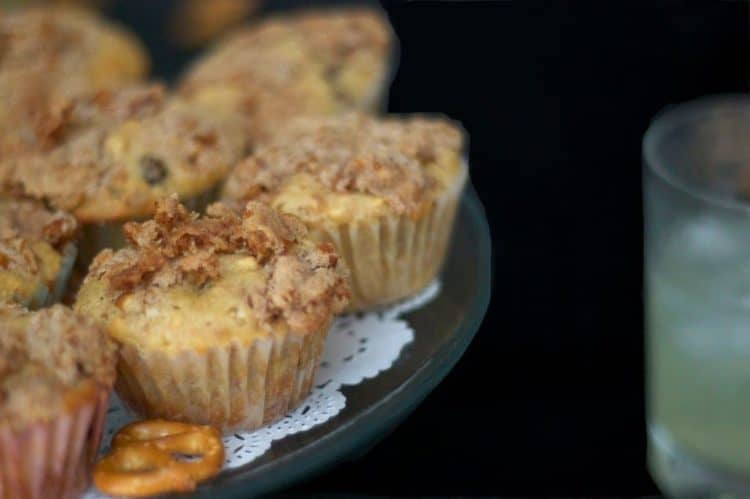 muffins on a stand