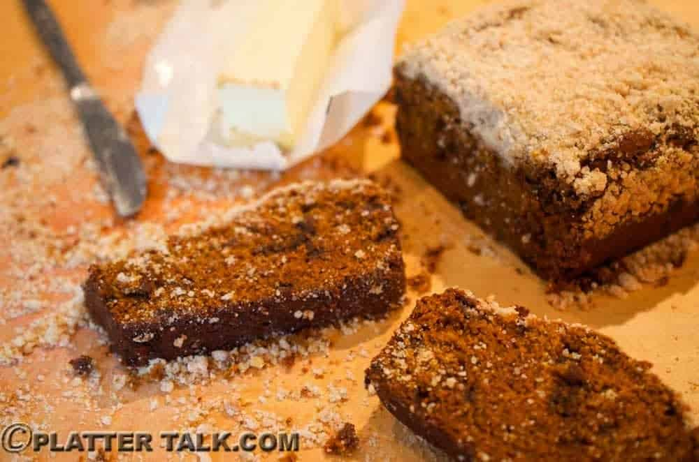 Pumpkin Snickerdoodle Bread Recipe from Platter Talk