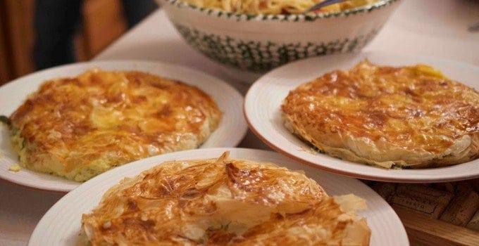 Italian Savory Pie.   Antipasto di Torte salate