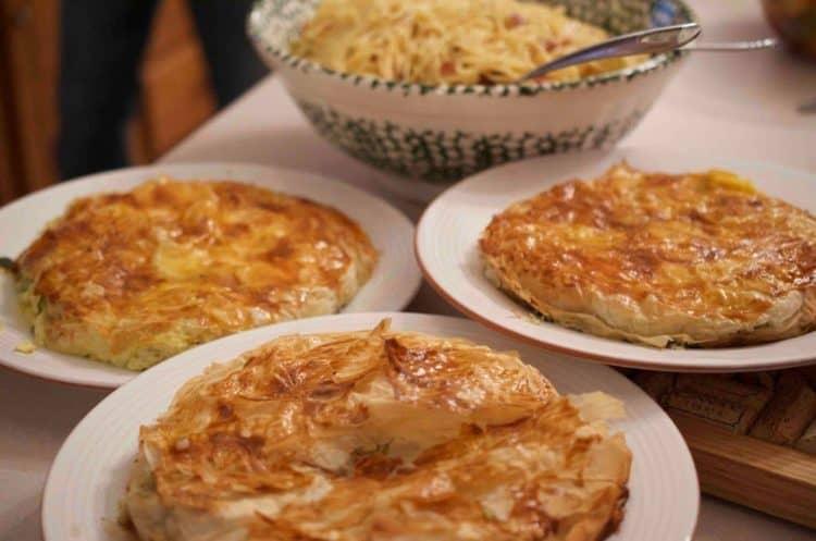 Italian Savory Pie; Antipasto di Torte salate