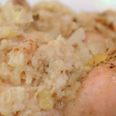Chicken and Rice with Crushed Pineapple