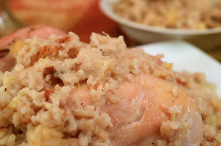 Chicken and Rice with Crushed Pinapple