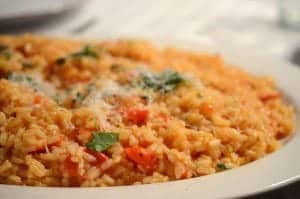 Tomato Risotto Recipe from Platter Talk food blog