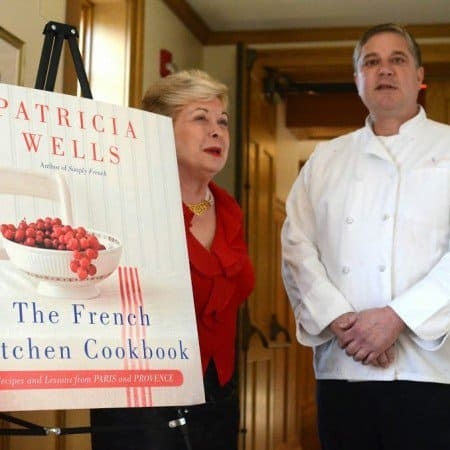 Lunch with Patricia Wells – The French Kitchen Cookbook Tour