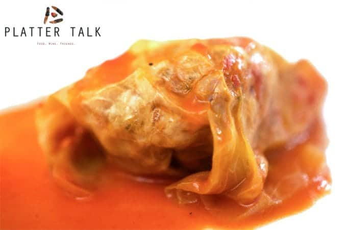 Golumpki Gołąbki Stuffed Cabbage Platter Talk
