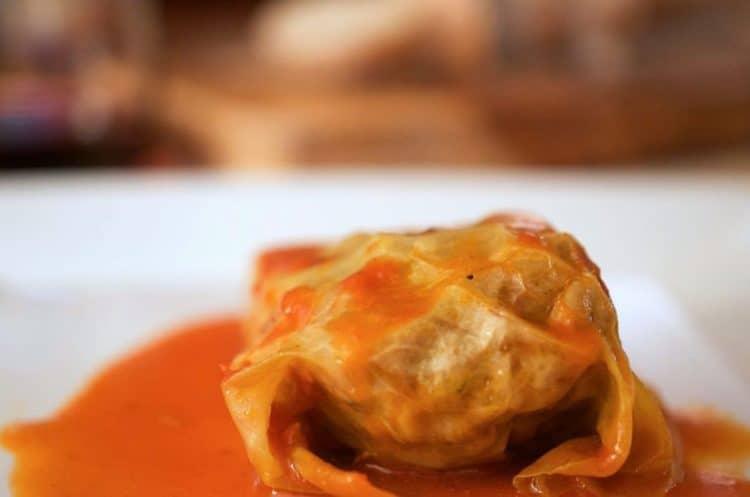 Golumpki (Gołąbki, Stuffed Cabbage) Recipe from Platter Talk