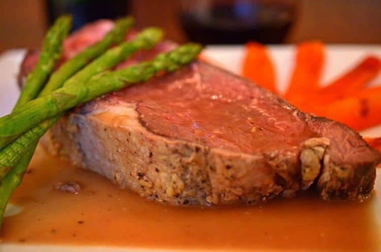 Oven Roasted Prime Rib of Beef Recipe by Platter Talk. How to Roast Prime Rib.