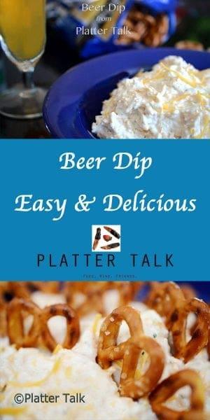Beer Dip Recipe from Platter Talk