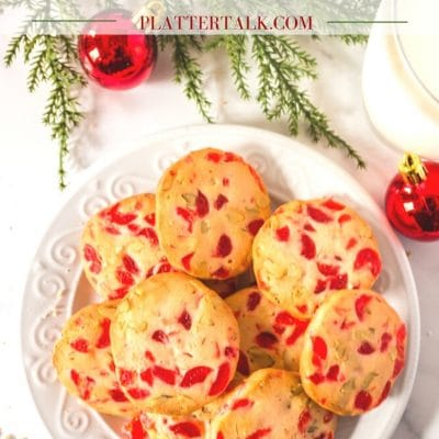 Cherry Christmas Cookies