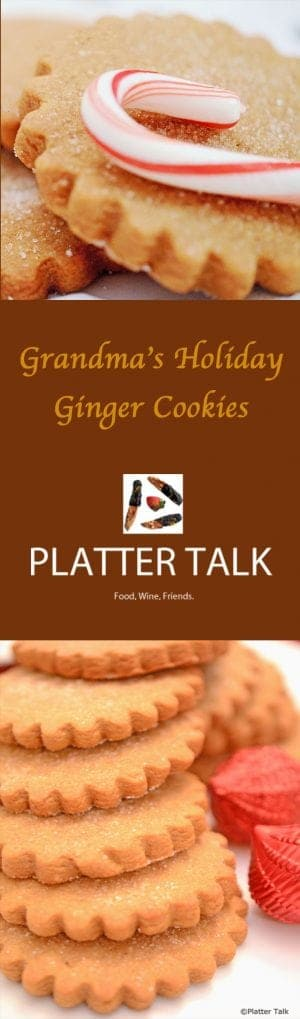 Grandma's Ginger Cookie Recipe