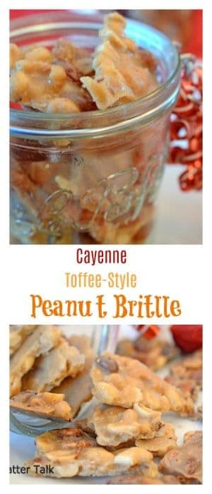 "This Cayenne Toffee-Style Peanut Brittle is the perfect recipe for holiday food gifts. If you have ever asked, ""How do you make peanut brittle?"" then this post and recipe is one you must read!"