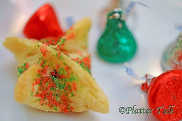 Holiday Wonton Kisses from Platter Talk