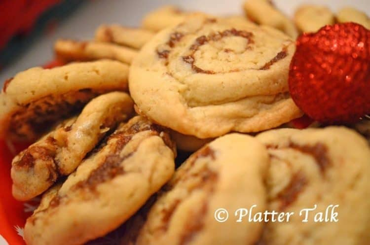 Date Pinwheel Cookies from Platter Talk