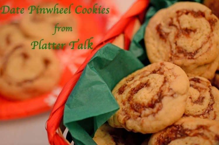 Date Pinwheel Cookies from Platter Talk