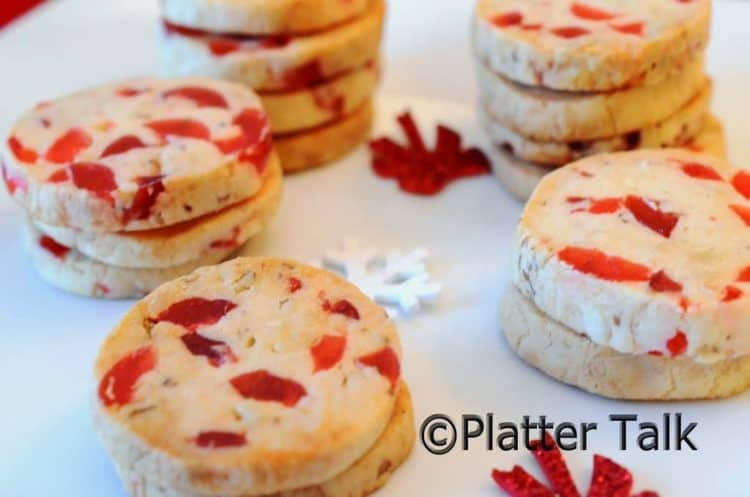 Cherry Chritmas Cookies Recipe