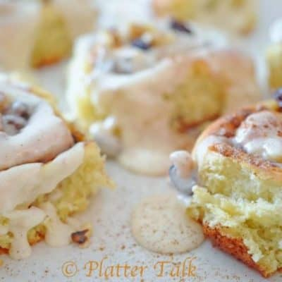 Cinnamon Rolls by Platter Talk