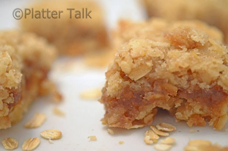 Oatmeal & Apple Butter Bars
