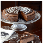 Deep chcolate cheesecake on Pinterest