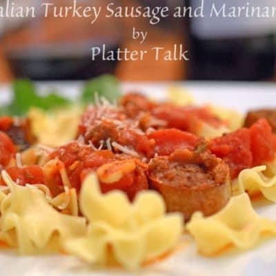 Italian Turkey Sausage and Marinara