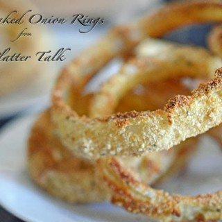 Baked Onion Rings from Platter Talk