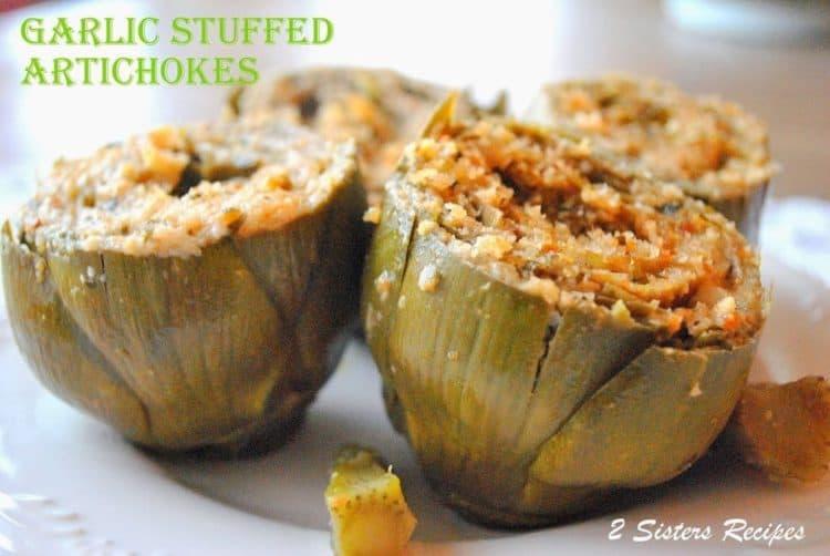 stuffed baby artichoke recipe
