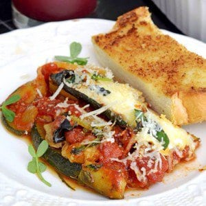 Zucchini Lasagna w Mushrooms amp Microgreens recipe summer delicious vegetarianhellip