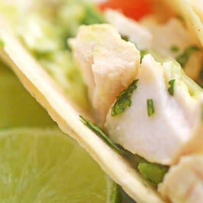 Fish Tacos with Cabbage Citrus Slaw