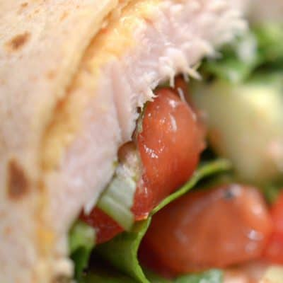 Healthy Turkey Wrap Recipe