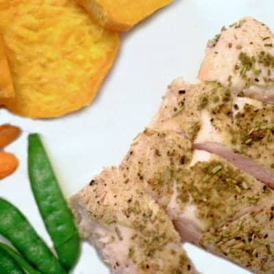 Herb Roasted Turkey Tenderloin