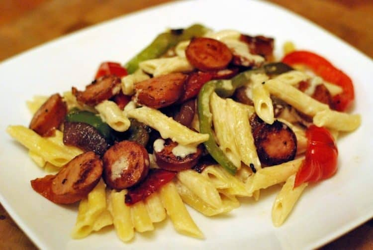 Smoked sausage and penne pasta recipes