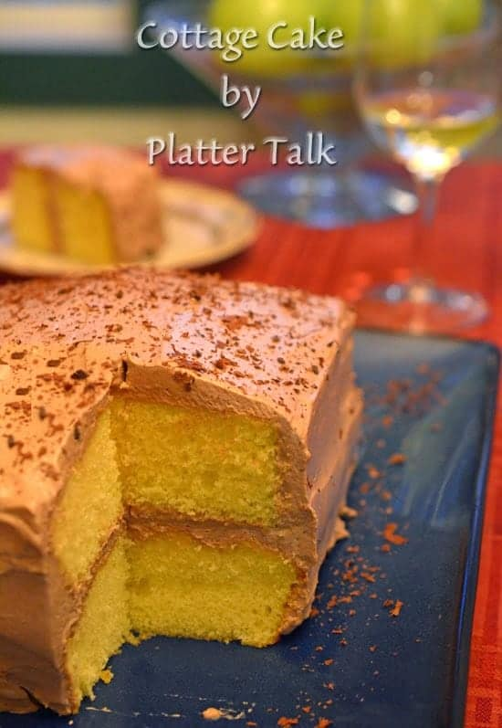 Cottage Cake from Platter Talk