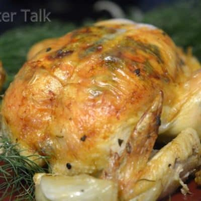 Herb Butter Roasted Chicken