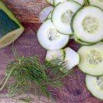 Creamy Dill #Cucumber #Salad
