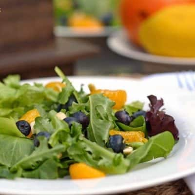 Mandarin Orange & Blueberry  #Salad