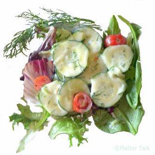 Salads on Platter Talk