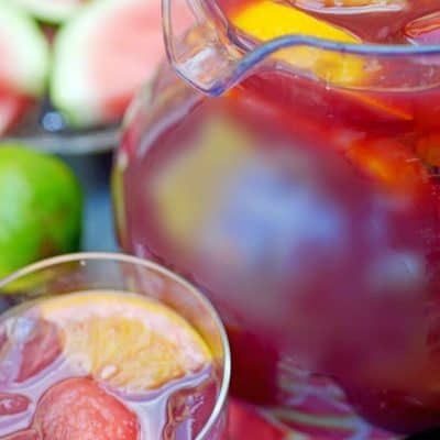 The best red wine sangria recipe.