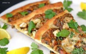 Thia Chicken Pizza from Platter Talk